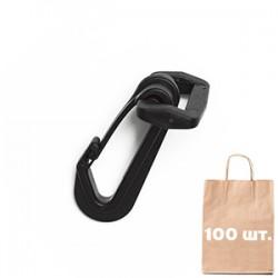 Карабін 25 мм Safe Snap Hook WJ. Упаковка 100 шт.