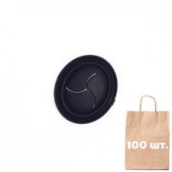 Вставка для Навушників Oval CD  Port WJ. Упаковка 100 шт.