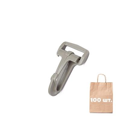 Карабин 25 мм Standard Snap Hook WJ. Упаковка 100 шт. Тан