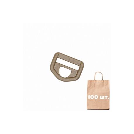 Рамка для карабина 25 мм Snap Hook Loop WJ. Упаковка 100 шт. Койот