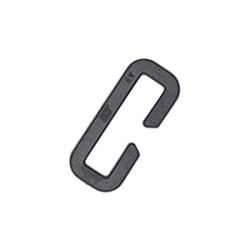 Рамка 25 мм открытая Slotted Loop WJ Черный