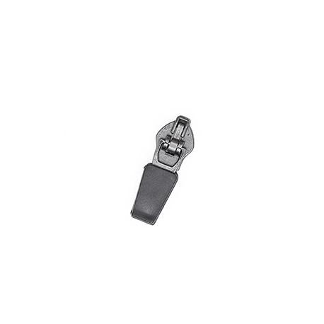Бігунок №5 Реверсний Semi Lock, Gun Metal