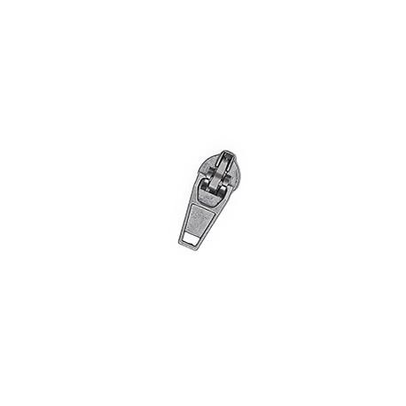 Бігунок №3 Semi Lock, Gun Metal