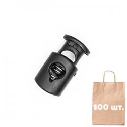 Фиксатор Small Elipce WJ. Упаковка 100 шт. черный