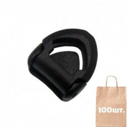Регулятор ремешка для шлема 15 мм Helmet Divider with Hole WJ. Упаковка 100 шт.