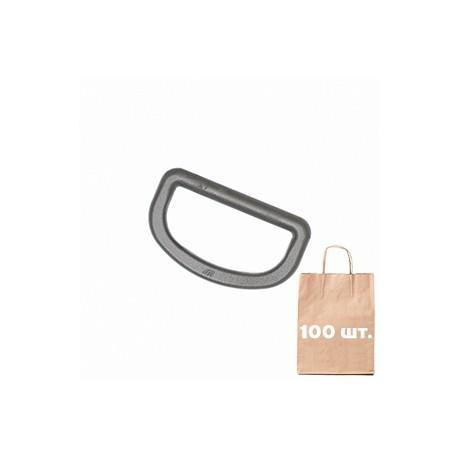 Полукольцо 40 мм HD D ring WJ. Упаковка 100 шт. олива