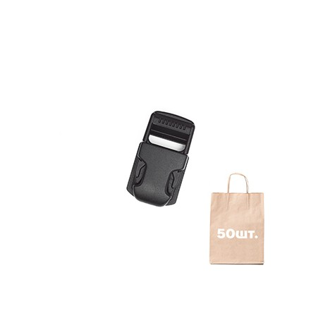 Фастекс на платформі 20 мм Pouch Clip WJ. Упаковка 50 шт.