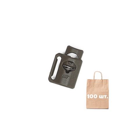 Фиксатор Mini WJ. Упаковка 100 шт. олива