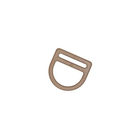Полукольцо 25 мм Double D ring WJ койот