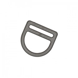 Полукольцо 25 мм Double D ring WJ олива