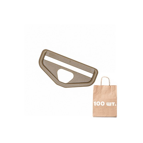 Рамка для карабина 50 мм Snap Hook Loop WJ. Упаковка 100 шт. койот