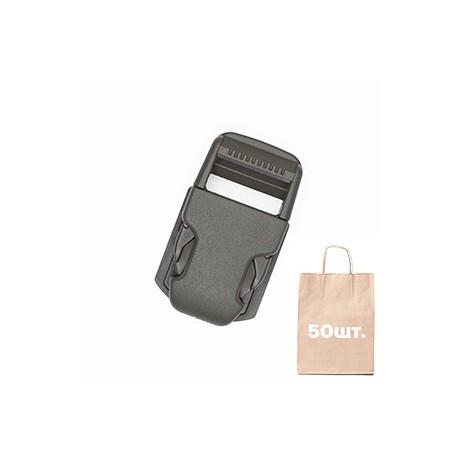 Фастекс на платформе 25 мм Pouch Clip WJ. Упаковка 50 шт. олива