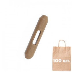 Клевант-застежка 10 Closing Bone WJ. Упаковка 100 шт. койот