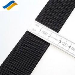Лента полиамидная ременная 25 мм черный