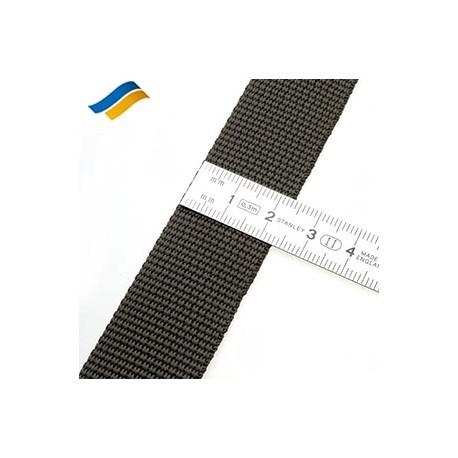 Лента полиамидная ременная 25 мм хаки