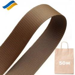 Стрічка поліамідна ремінна 40 мм, 50 метрів