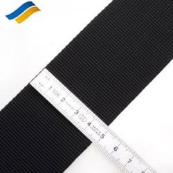Лента полиамидная ременная 50 мм черный