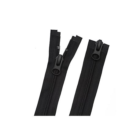 Молния 8 мм Классическая Спираль 90 см черный