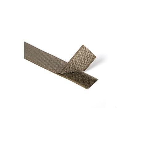 Липучка Крючки 25 мм олива темная