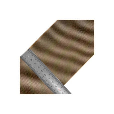 Липучка 100 мм нейлон Molded HOOK олива темная