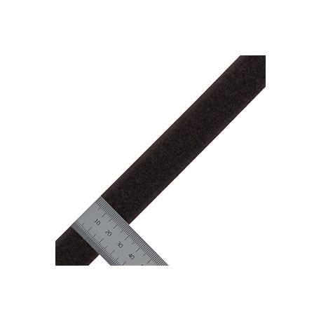 Липучка 25 мм Микс Петли черный