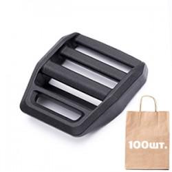 Регулятор ремня 25 мм Z-Lock Black WJ. Упаковка 100 шт. черный