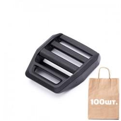 Регулятор ременю 20 мм Z-Lock Black WJ. Упаковка 100 шт.