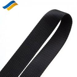 Лента полиамидная ременная 16 мм черный