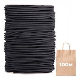 Резинка 3 мм Spandex Line Черный