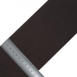 Липучка нейлон Крючки 100 мм черный