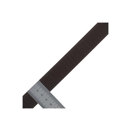 Липучка 25 мм Микс Крючки черный