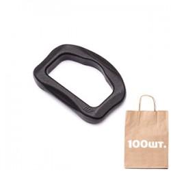 D кольцо 25 мм Smoothy D-ring WJ. Упаковка 100 шт.