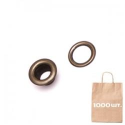 Люверс 5 мм NO:3 BRASS EYELET. Упаковка 1000 шт.