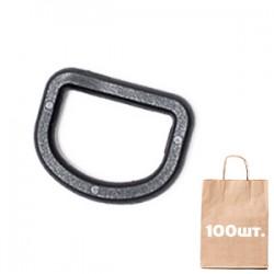 D кольцо 25 мм WJ. Упаковка 100 шт. Black