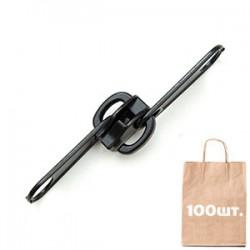 Бегунок №10 Non Lock 2 Puller, MAX Zipper. Упаковка 100 шт.