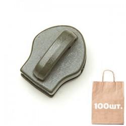 Бігунок №10 Non Lock без пулера, MAX Zipper. Упаковка 200 шт.