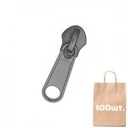 Бігунок №10 Non Lock, MAX Zipper Черный