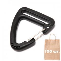 Карабин 25 мм Triangle Metal Hook WJ. Упаковка 100 шт.