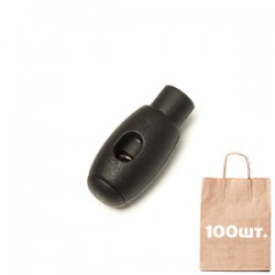 Фиксатор Oval C-L WJ. Упаковка 100 шт.