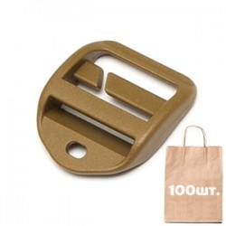 Регулятор Ремня 25 мм QA Lock with Hole WJ. Упаковка 100 шт.