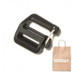 Регулятор ремня с замком 20 мм H.D. Gate Keeper Lock Left WJ. Упаковка 100 шт.