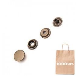 Кнопка Кольцевая 15 мм FLAT CAP. Упаковка 1000 шт.